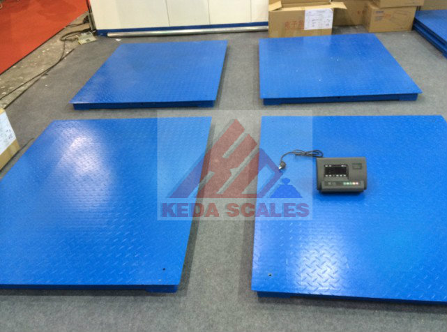 Single-deck Floor Scales